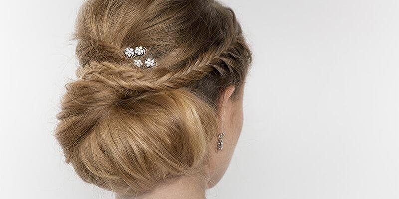 Braids In Bride Hair