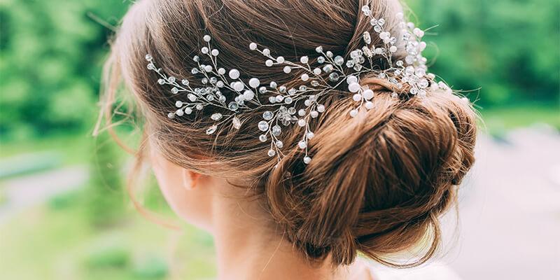 Messy Bride Hair