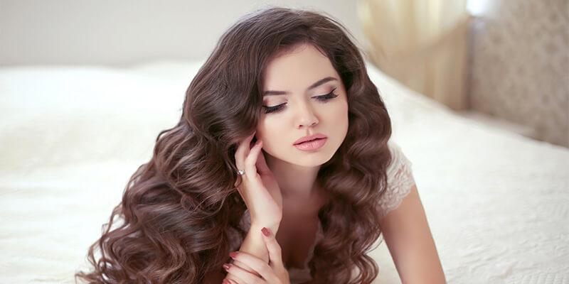Wavy Bride Hair