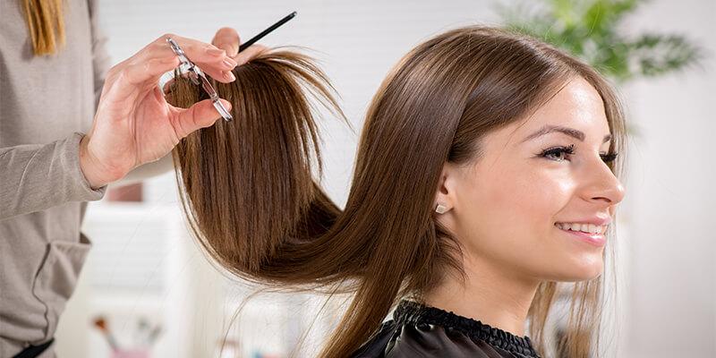 Having A Hair Cut