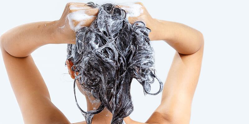 Women Washing Hair