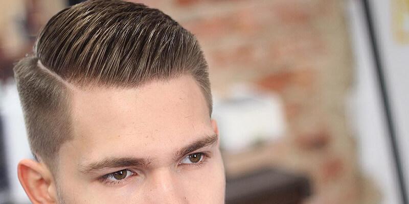 short side hair