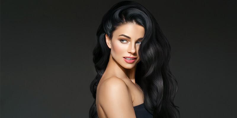 Black Hair Colours