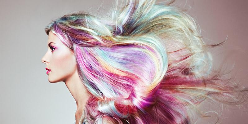 Rainbow Hair Colours