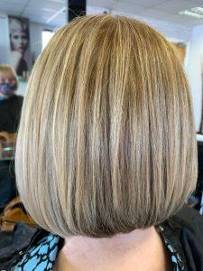 bob hair transformation