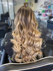 brown hair blonde