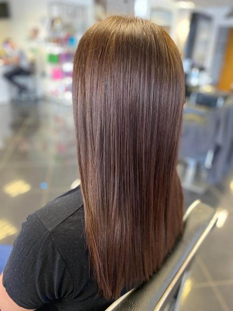 brown hair long