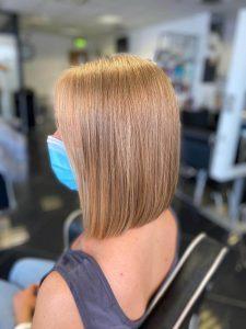 women hair side